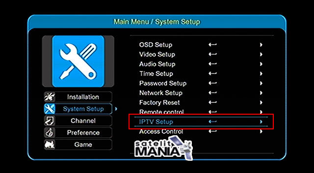 Cara Setting IPTV di Receiver Getmecom HD009 Super