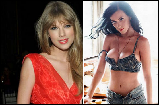 Briga de Taylor Swift e Katy Perry