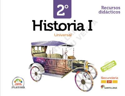 Historia Universal 1 Segundo Grado Editorial Santillana