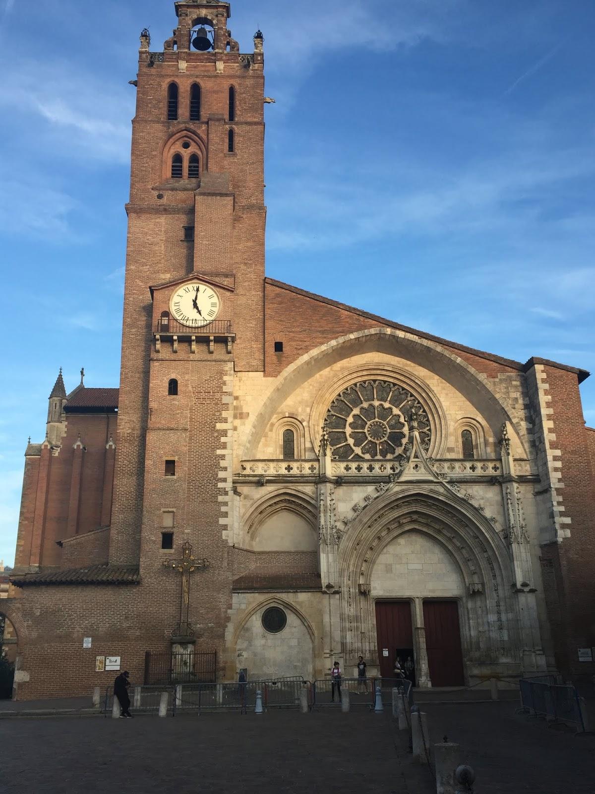 la cathédrale saint étienne à toulouse