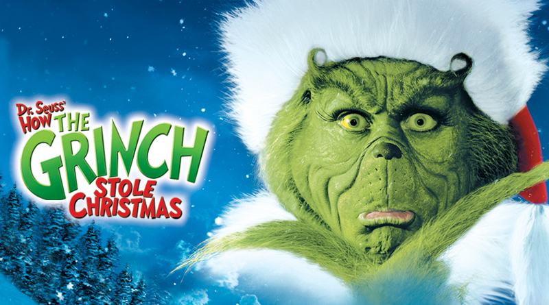 How The Grinch Stole Christmas Jim Carrey.Enchanted Tales Of Film The Glitter Of Commercialism How