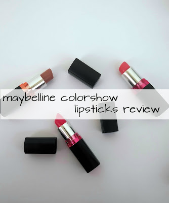 Maybelline Color Show Lipsticks Swatches ,Review and Price