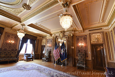 猶他州議會大厦, utah state capitol, state reception room