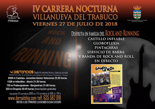 Carrera Nocturna Villanueva del Trabuco 2018