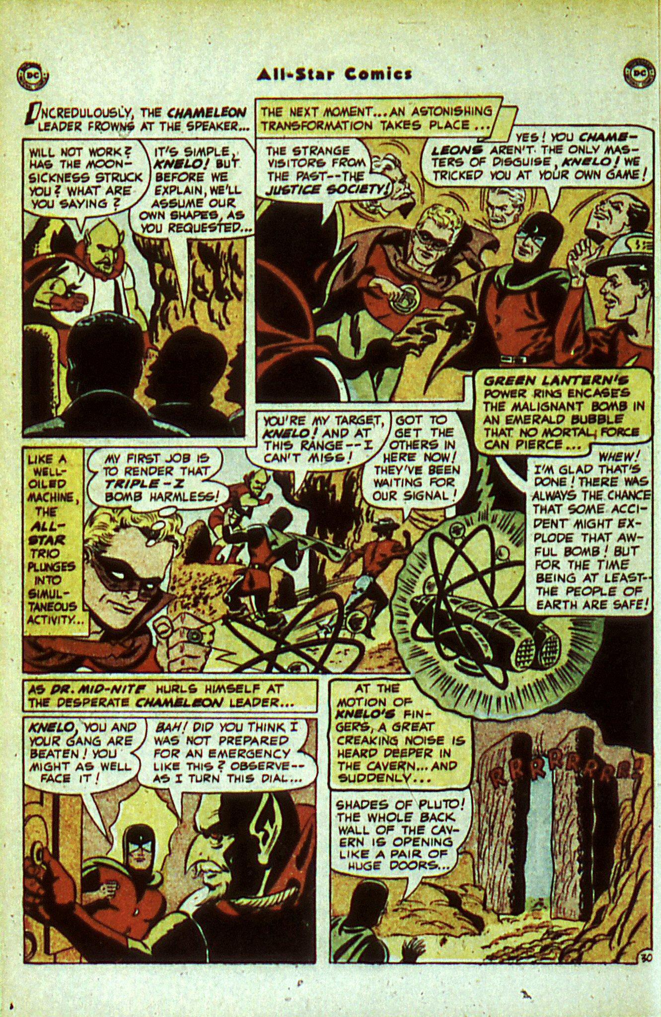 Read online All-Star Comics comic -  Issue #56 - 38