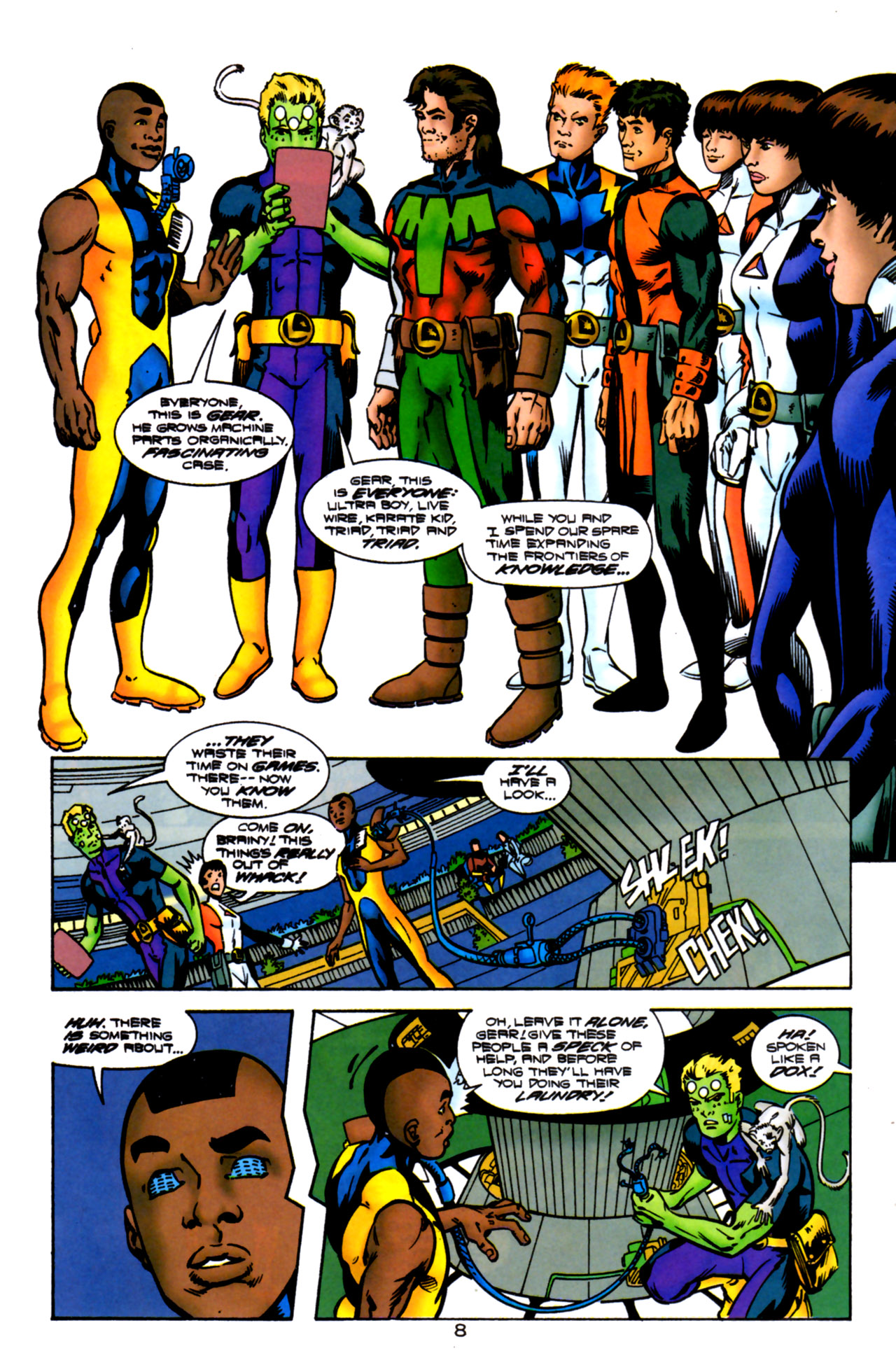 Legion of Super-Heroes (1989) 119 Page 7