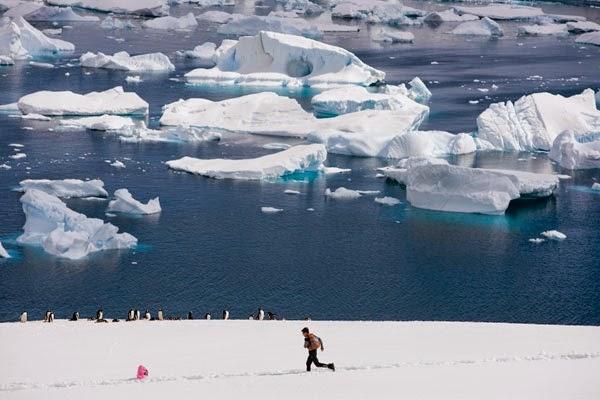 Costa Antartide. foto: Karnazes - runnersworld.com