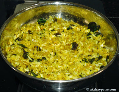 roasted poha mixed