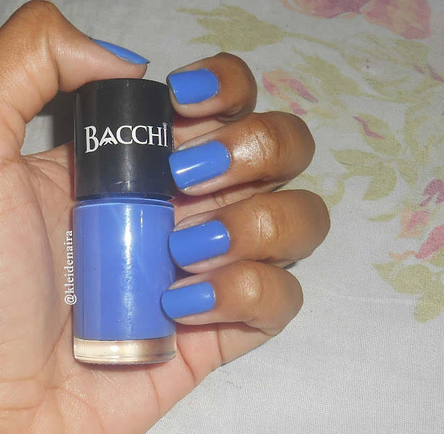 Esmalte Mar Azul da Bacchi Cosméticos
