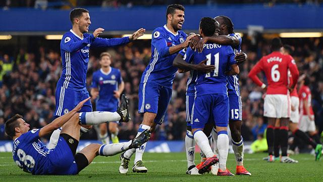[Video] Cuplikan Gol Chelsea 4-0 Manchester United (Liga Inggris)