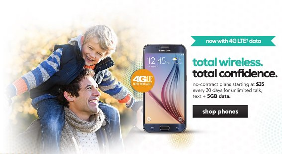 Total Wireless LTE Phones and Maybe LTE SIMs Now Available