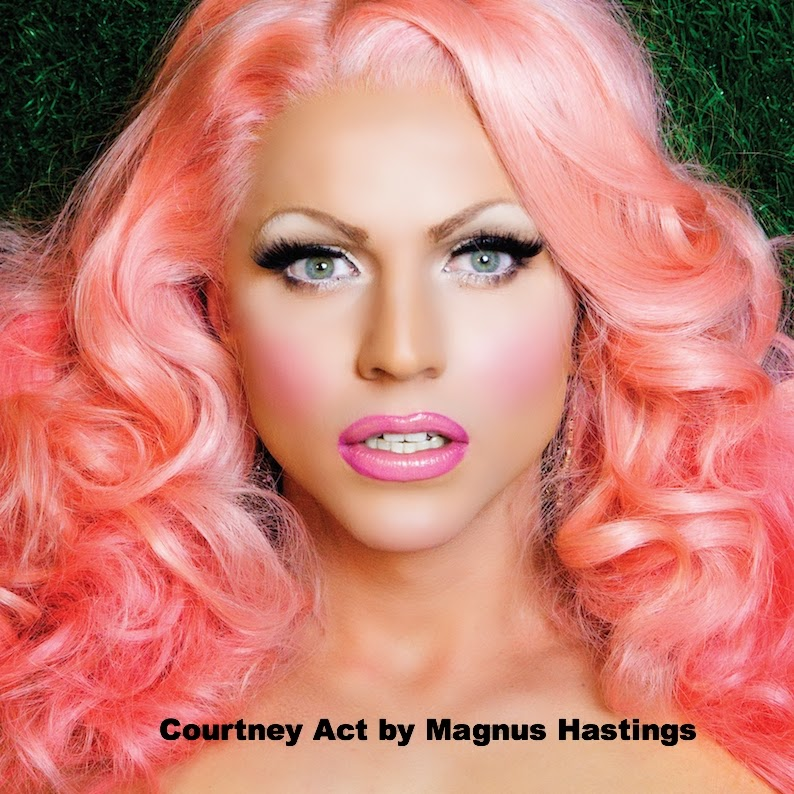 Courtney Act by Magnus Hastings