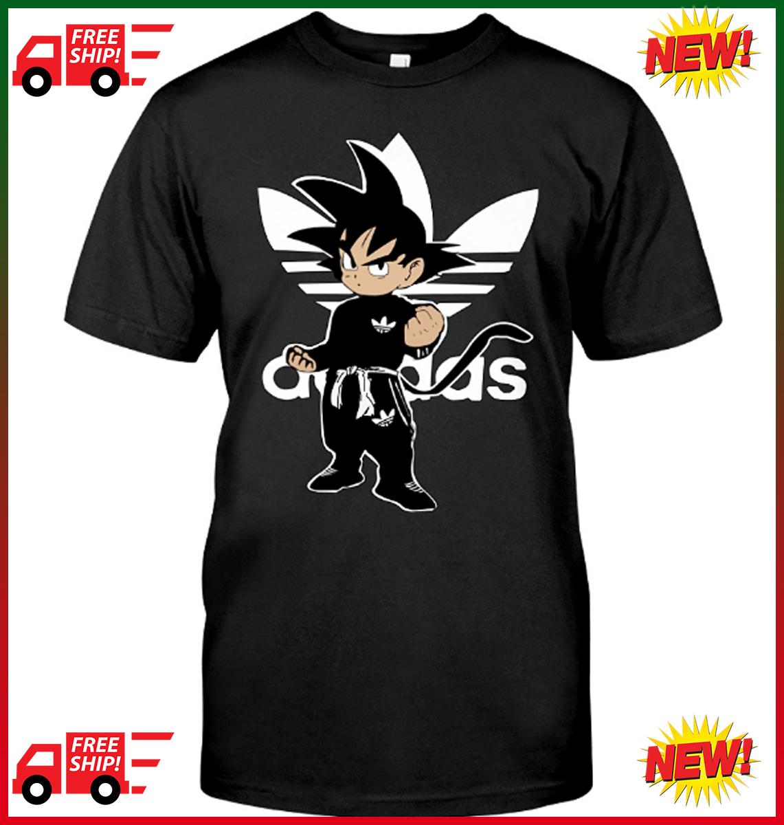 camiseta dragon ball adidas