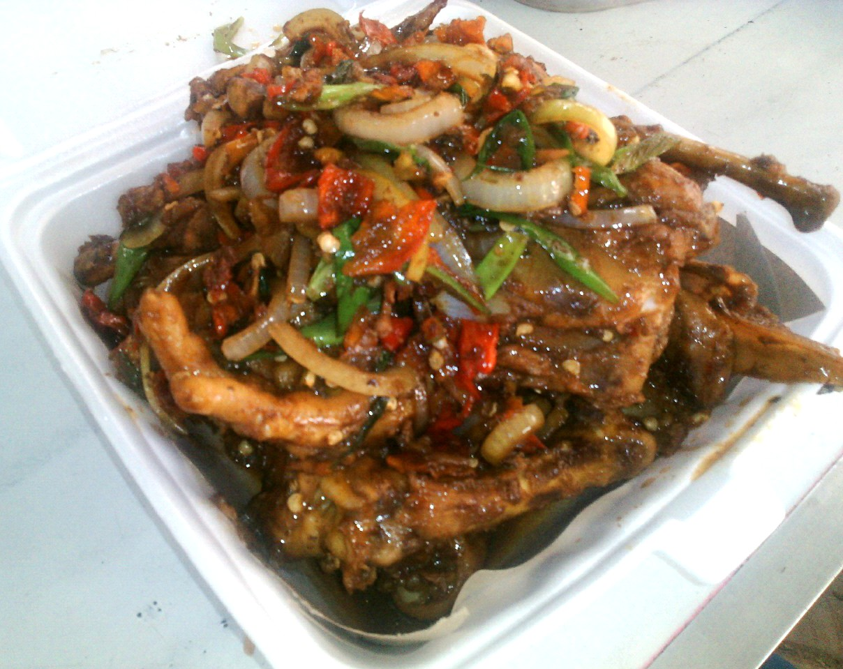 Wisata Kuliner Ponorogo Oseng Fosil Ayam Kang Joe Ponorogo