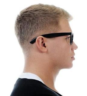 tapered hair cut