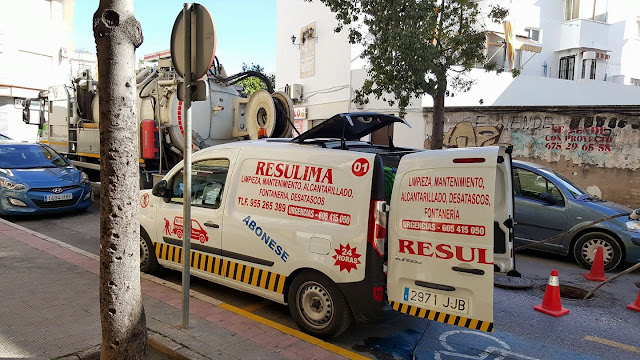 Limpiezas urgentes camiones cuba Sevilla