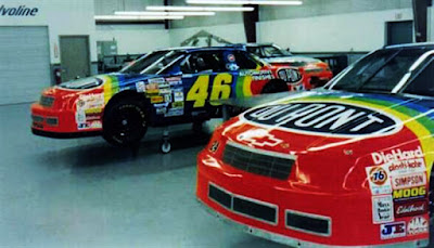 Jeff Gordon #46 Dupont Buddy Baker