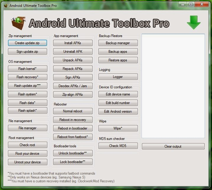 Android Ultimate Toolbox Pro - The Ultimate Android Utility