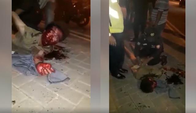 1 Orang Maling Bonyok Dihajar Oleh Satpam Perumahan Citraland Surabaya