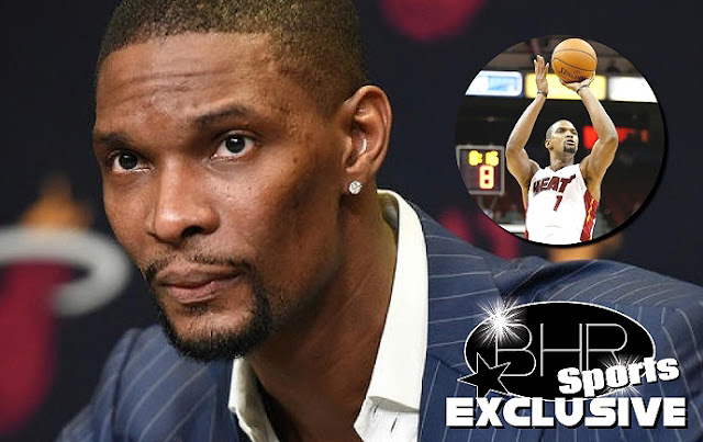NBA Star Chris Bosh Will Be leaving The Heat Due To Blood Clots