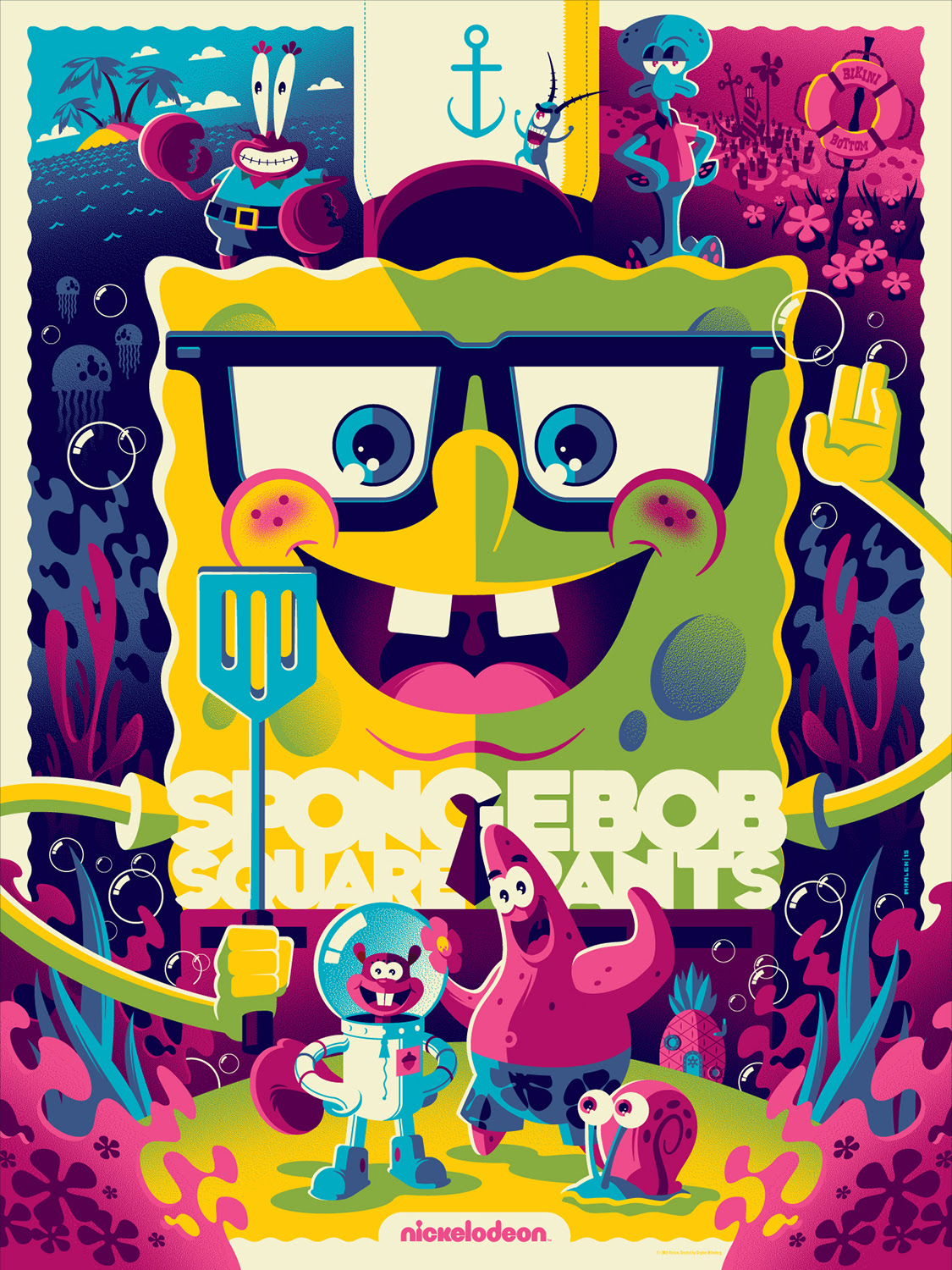 Last of the New Character Posters for 'The SpongeBob Movie ... |Spongebob Movie Poster