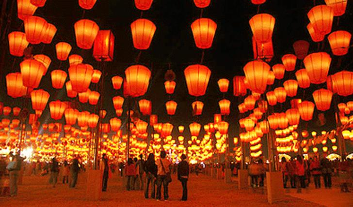 Pingxi Lantern Festival, Festival Ribuan Lentera