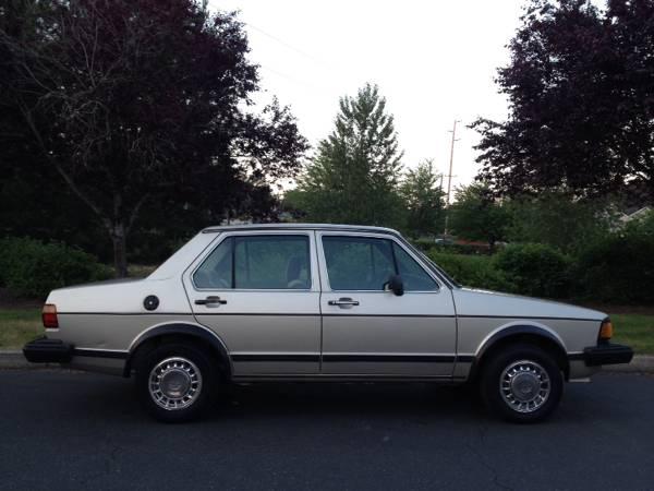 Very Clean 1984 Vw Jetta Mk1 Turbo Diesel