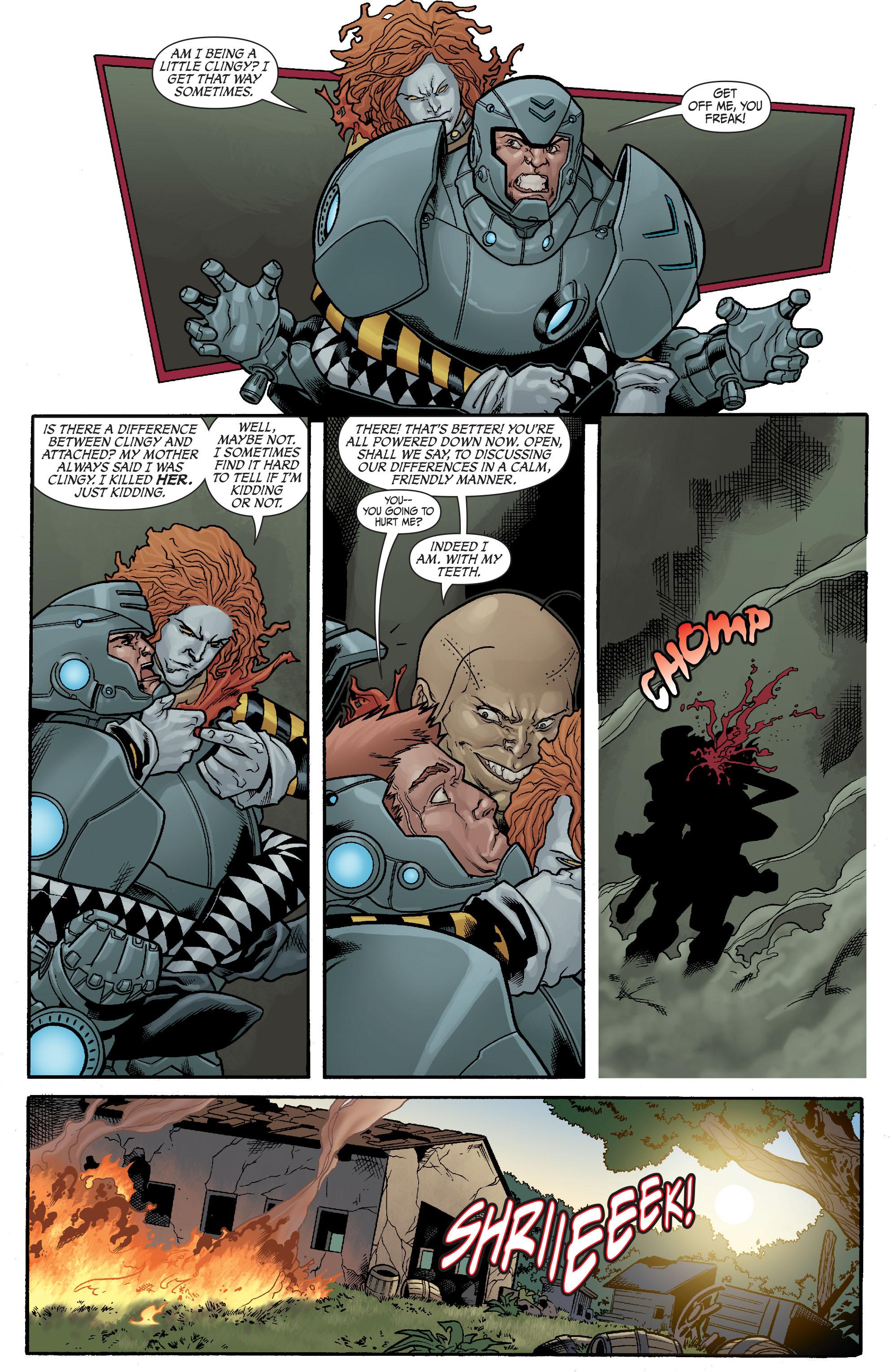 Read online Secret Six (2008) comic -  Issue #23 - 18