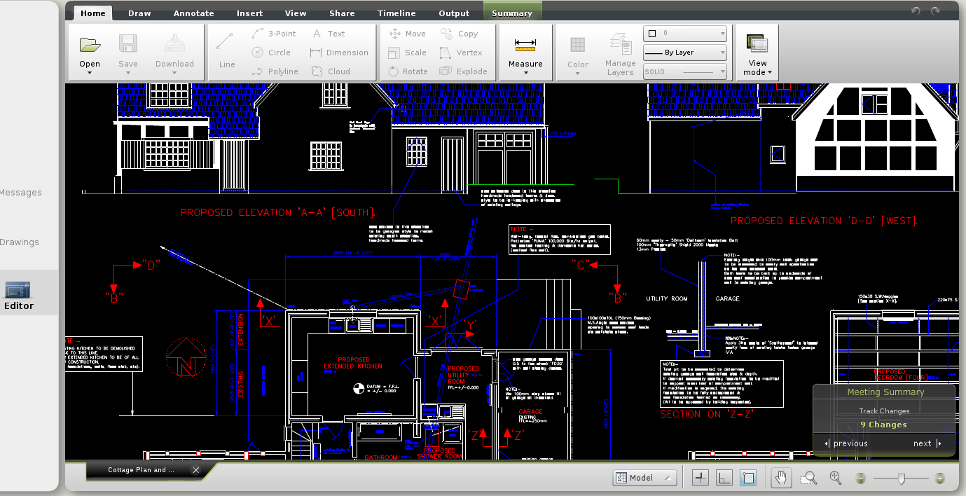 Work With Autocad Drawings Cloud Based Platform No Software