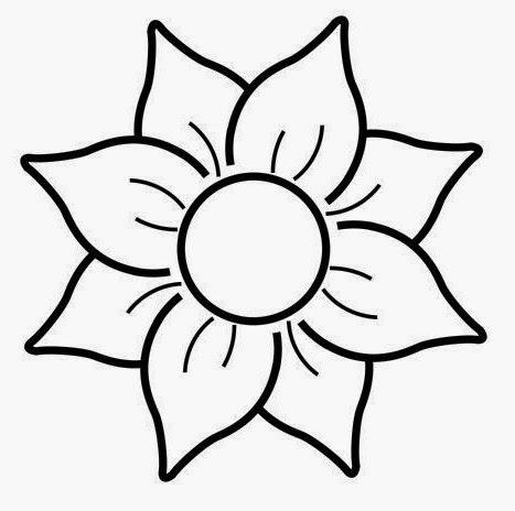 Dibujos De Flores Para Colorear Dibujos Para Niños