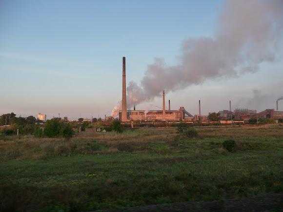 Авдеевка. Коксохимический завод – один из крупнейших производителей кокса для металлургии в Европе