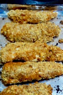 Black Pepper Rub Chicken Fingers: Savory Sweet and Satisfying