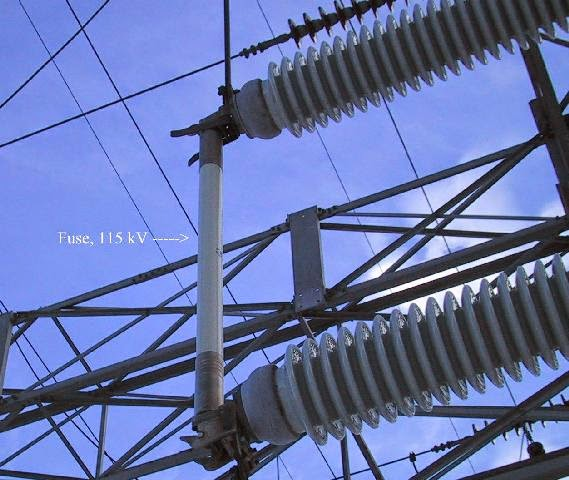 Switchgear Equipment In A Substation Earth Of Tech