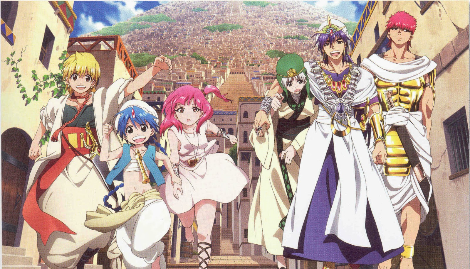 Blog De MaemiXD: Magi: The Labyrinth Of Magic