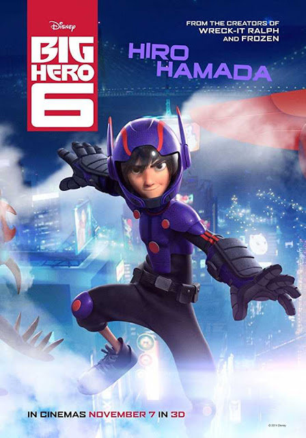 Big Hero 6 2014 Movie Free Download 720p BluRay DualAudio