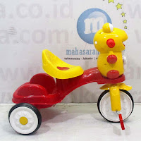 sepeda roda tiga tajimaku katak Yellow