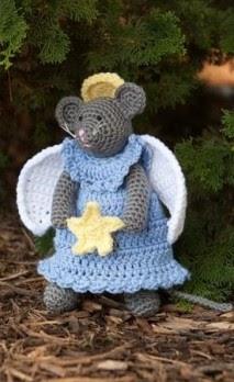 2000 Free Amigurumi Patterns Mouse Angel Crochet Pattern