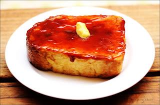 French Toast ala Blockchain Cafe Bandung