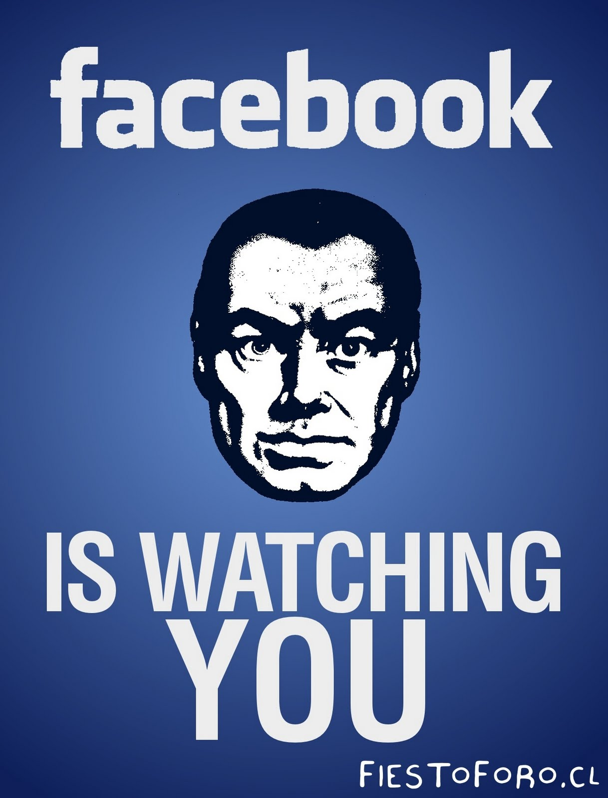 Bildergebnis für facebook is watching you
