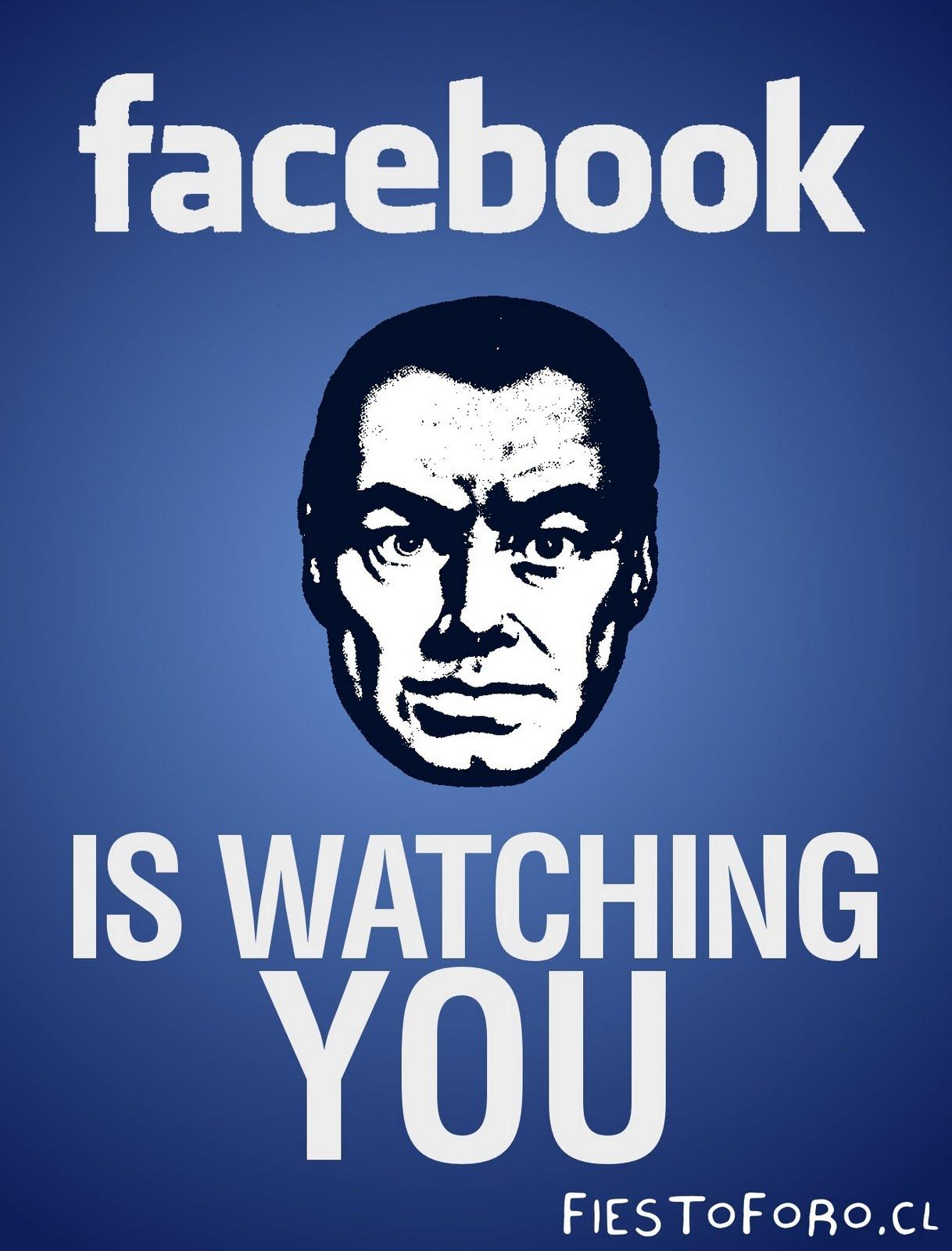 Bildergebnis für facebook is watching you