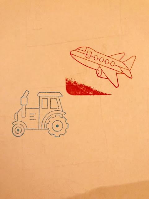 kids ink stamps