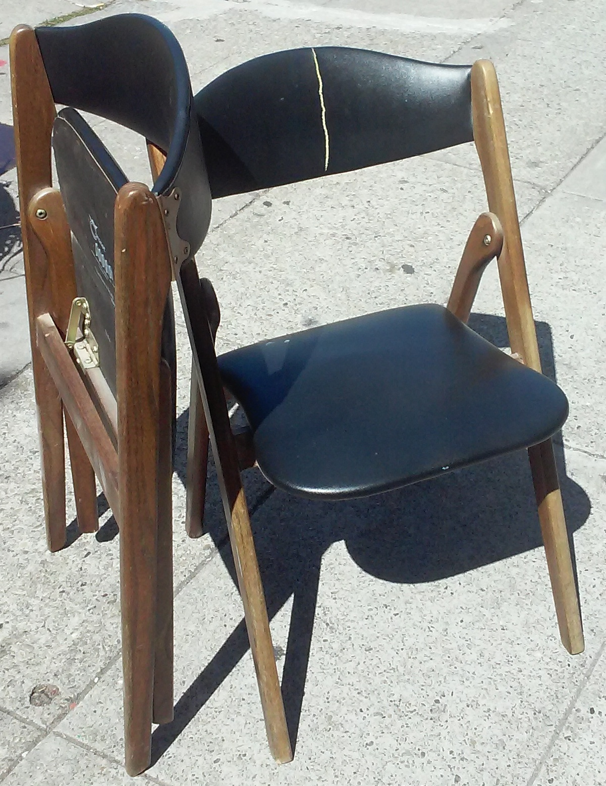 coronet folding chairs polyester chair sashes wholesale uhuru furniture and collectibles sold 5864