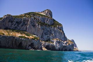 Parte Posterior Peñón de Gibraltar