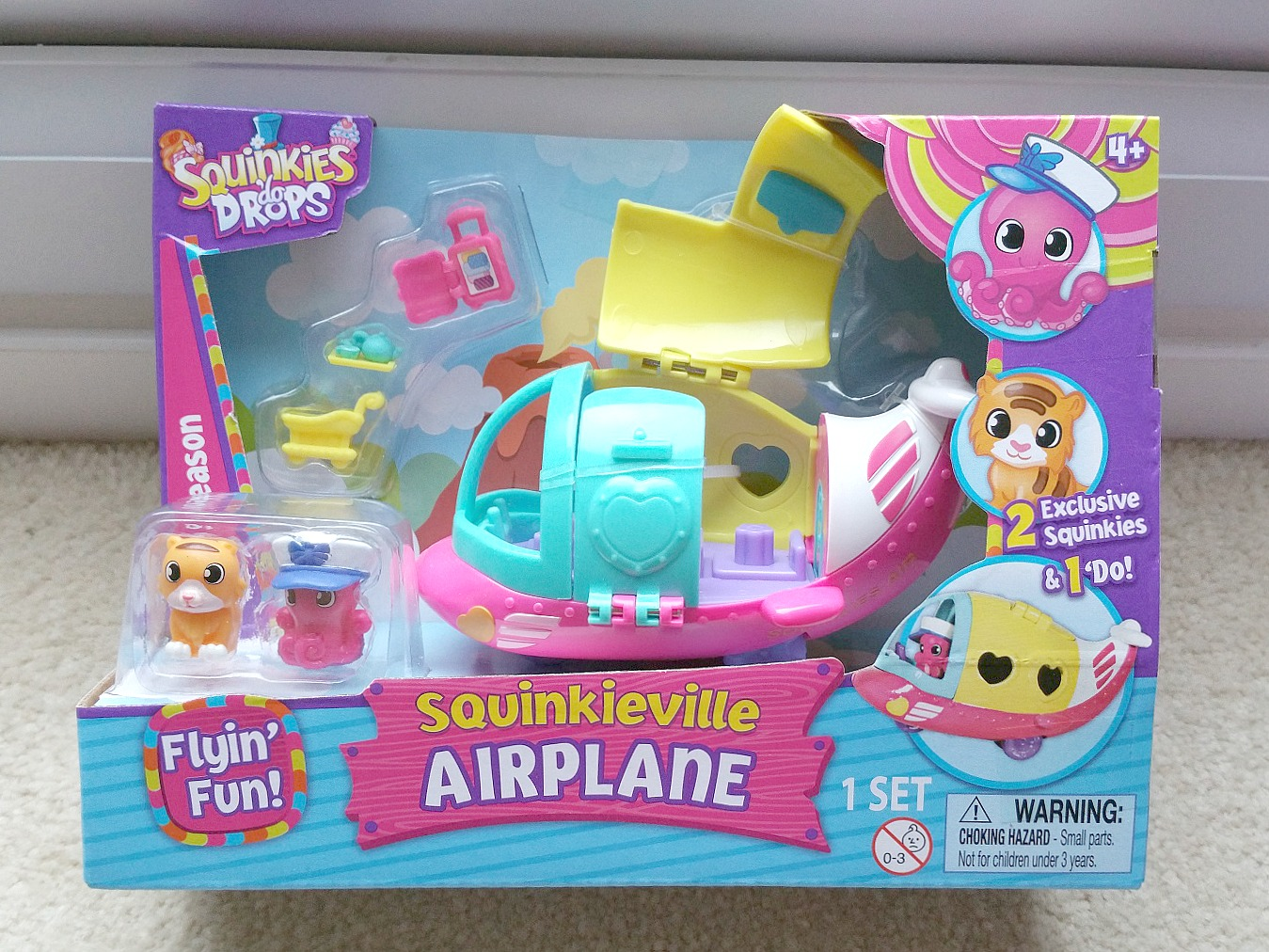 Squinkies do Drop, Squinkieville Airplane, Squinkieville Ice-cream Shop