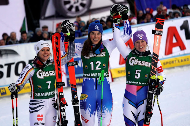 Petra Vlhova Wins World Cup GS in Semmering