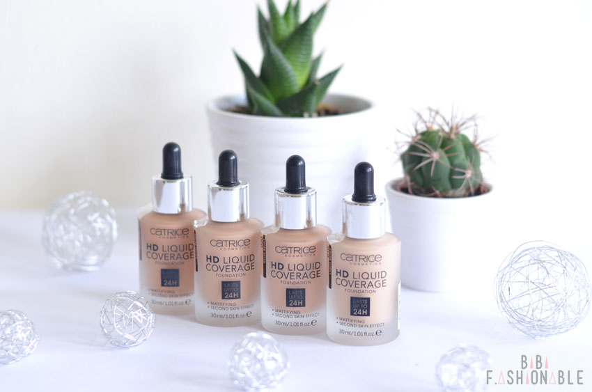 Catrice HD Liquid Coverage Foundation Titelbild