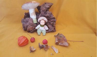 Atelier de Vier Jaargetijden antroposofisch seizoentafel herfst