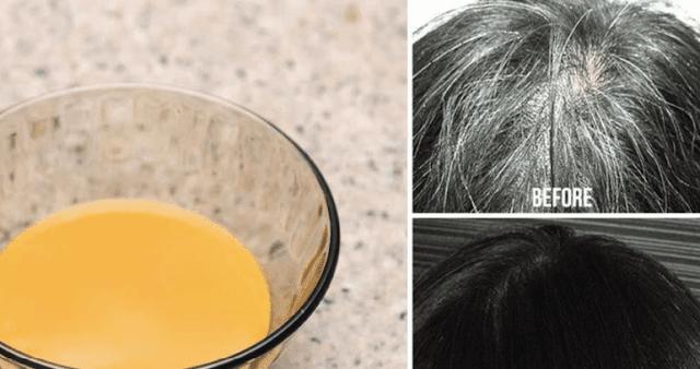 Remédio caseiro que transforma cabelos grisalhos de volta à sua cor natural