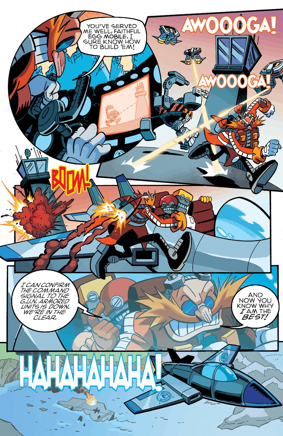 Read online Sonic The Hedgehog comic -  Issue #254 - 14