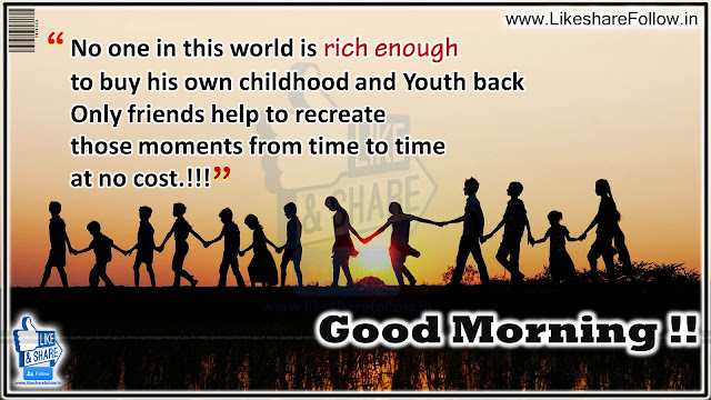 Best good morning messages with Great Friendship Quotes